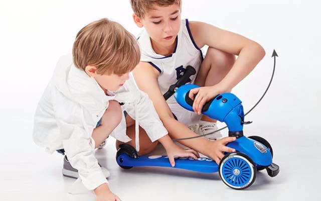 COOGHI酷骑多功能儿童滑板车