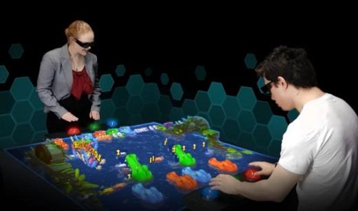 澳大利亚优立公司开发全新游戏系统,未来可体验全息沙盘街机对战?
