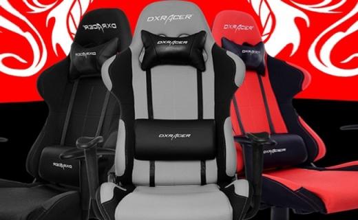 迪锐克斯F01电竞椅:赛车椅专用耐磨针织布,透气舒适自由无拘束