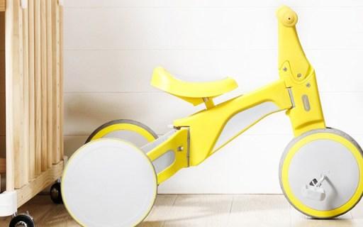 平衡车三轮车合一,让你花一样钱,骑两辆车 —  柒小佰变形儿童车测评