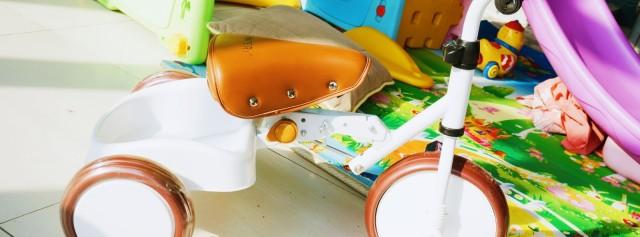 轻便可折叠的三轮车,还能培养孩子运动能力 — 美国如宝zooper 儿童学步三轮车体验 | 视频