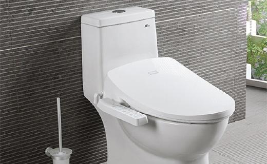 鹰卫浴BS007智能马桶盖:银离子自洁坐垫,混合加热杜绝水温不稳