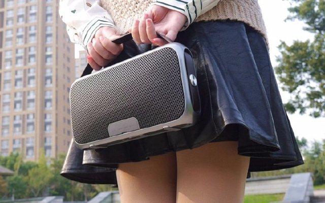 颜值出众+复古设计,这音箱让妹子爱不释手 — 音磅随想9蓝牙音箱体验