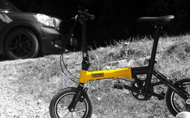 高颜值折叠单车,轻质便携载你看不一样的风景