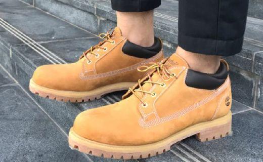 添柏岚小黄靴:优质防水皮革鞋面,有效缓震防滑鞋底