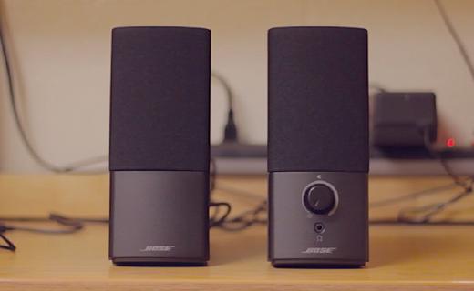 小体积大声场的Bose组合音响特价,在家也行享受无处不在的美好音乐