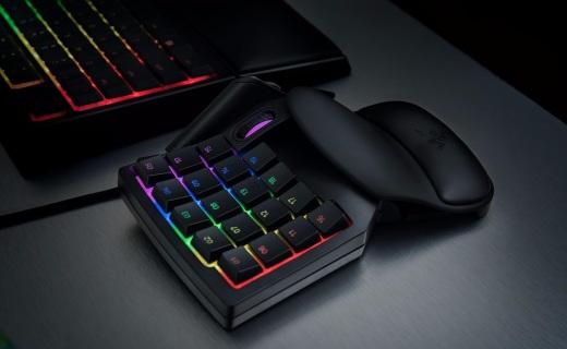 雷蛇发布塔洛斯魔蝎V2游戏单手键盘,售价699!