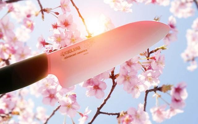 京瓷樱花珍珠刀套装