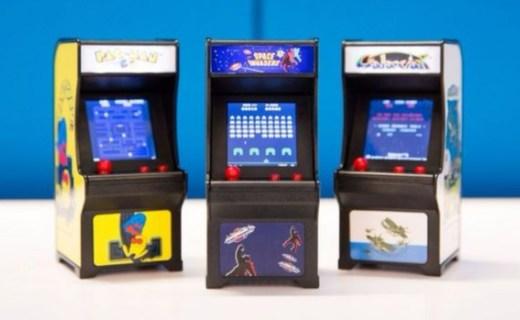 Tiny Arcade迷你游戏机:高还原街机,迷你身型玩味十足