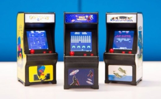 Tiny Arcade迷你游戲機:高還原街機,迷你身型玩味十足