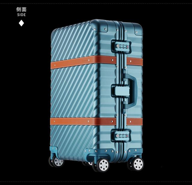 OCCA铝镁合金拉杆箱