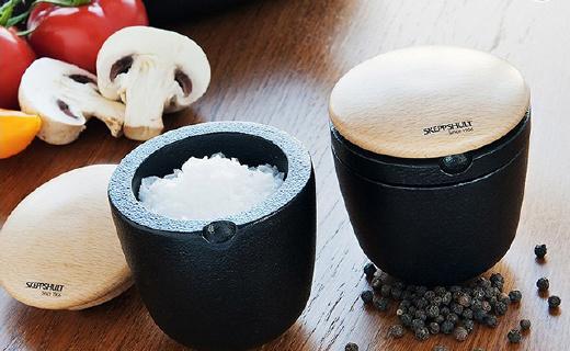 瑞典国宝铸铁调味罐,颜值超高更健康