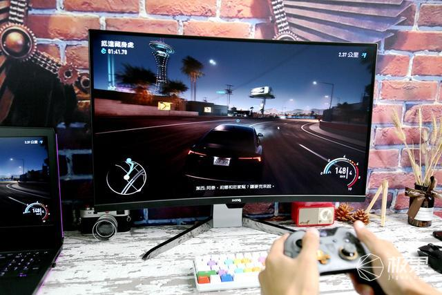 无曲面不游戏,超大屏沉浸式体验,明基EX3203R曲面显示器体验