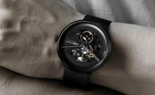 小米众筹上线玺佳机械表,17年德国iF设计奖金奖唯一腕表