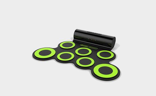 Iword手卷电子鼓:便携可折叠,自带双扬声器支持电子鼓游戏
