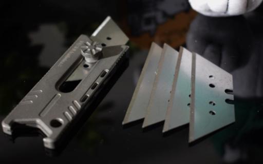 体形小巧却功能强悍,我的掌上EDC新宠 — Vollsion 刺鲶钛合金EDC美工刀体验