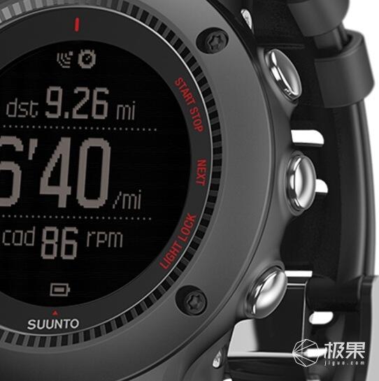 颂拓(SUUNTO)AMBIT3RUNBlackHR拓野3R户外智能手表
