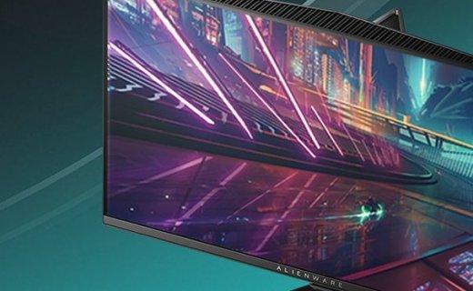 外星人电竞显示器:240Hz超高刷新1ms响应, 出众性能电竞利器