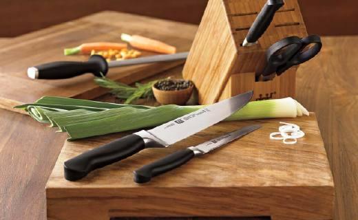 双立人刀具砧板三件套:崭新人体工学设计,握感舒适超锋利