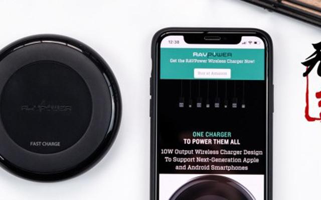 拒绝插!插!插!iPhoneX就该这样优雅充电 — RAVPower无线充电器上手体验