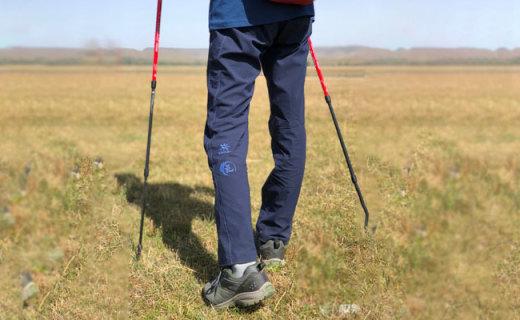 凯乐石攀岩裤视频测评,透气速干,让我徒步之旅更爽快