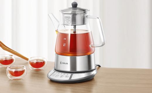 东菱煮茶器:蒸汽循环喷淋煮茶,体验古法新造的饮茶仪式