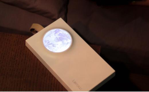 乐泡充电宝:揽月设计别出心裁,照明功能文艺又实用
