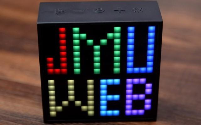 当音箱遇到LED,生活需要更青春的小细节,Divoom TIMEBOX-EVO体验