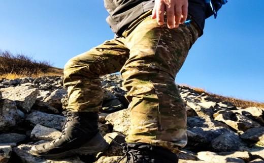 科技面料的军风潮装,迷彩时尚范,通勤战术裤——MONTECH蒙特罗单导户外迷彩裤