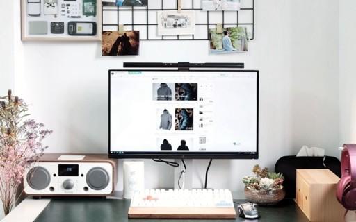 桌面办公利器,WiT ScreenBar 屏幕智能挂灯体验