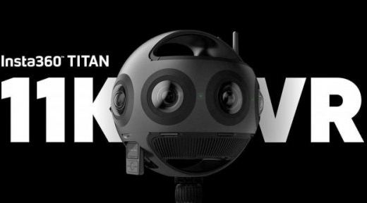 Insta360 Titan亮相CES:一款11K分辨率的八鏡頭VR相機!