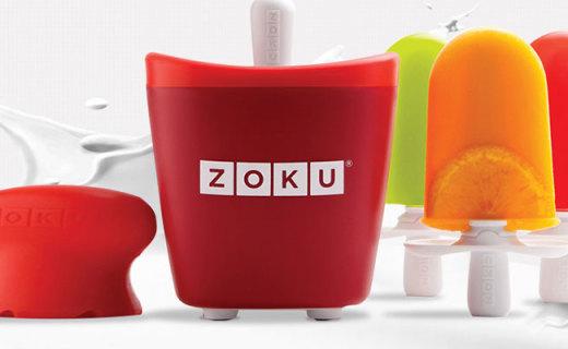 Zoku雪糕机:采用安全无毒冷冻液,7分钟速成美味雪糕