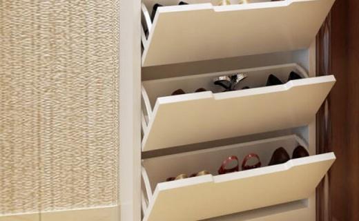 HMJIA玄关鞋柜:可收纳12双鞋,纤薄轻巧不占空间