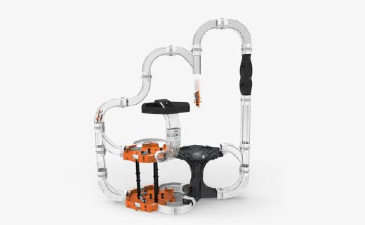 赫宝援纳诺虫系列黑洞套装:三维立体模型大幅锻炼动手能力,比乐高还刺激