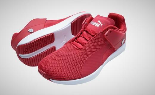PUMA男款运动鞋:网眼布鞋面舒适透气,鞋身斜拉片提升脚感
