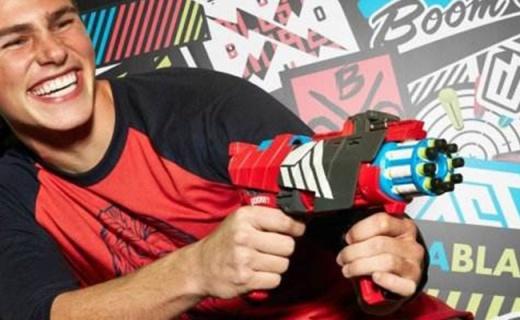 美泰BLL36软弹枪:安全橡胶弹头,让你体验火拼CS的乐趣