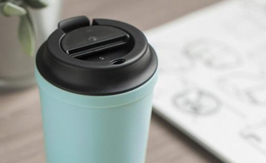 Artiart随行咖啡杯:魔力吸盘不倒设计,再也不用担心碰撒尴尬