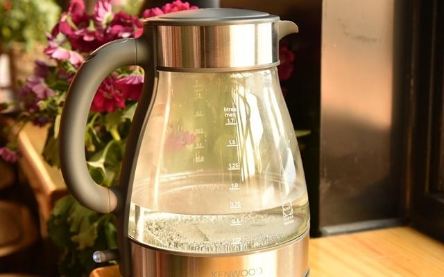 水壶界的颜值担当,KENWOOD玻璃电水壶体验