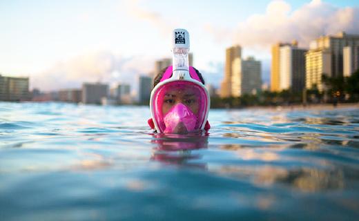 旱鸭子游泳再也不呛水,还能让你一览海底风景