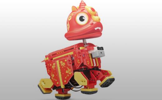 UBTECH 中国风机器人,还能教小朋友编程