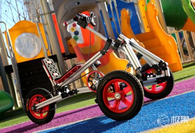 百变童车,一起玩积木童车,infento,DIY童车