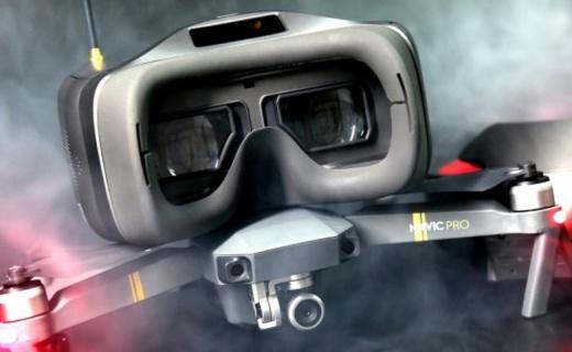 沉浸感强烈,原地不动就能体验飞一般的感觉 — DJI Goggles RE竞速版飞行眼镜评测 | 视频