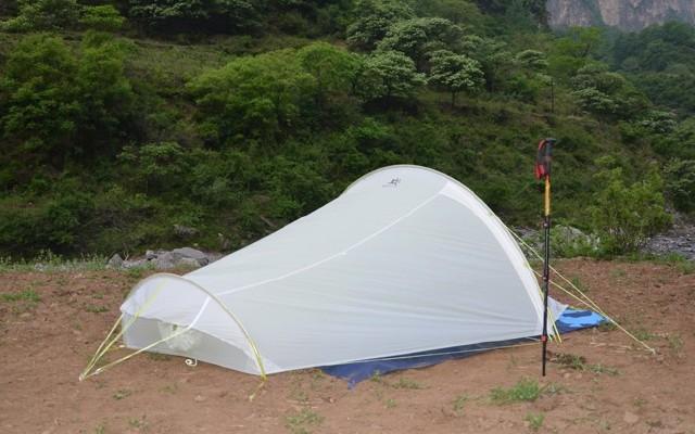 防水透气又轻量,Kailas蜻蜓UL 2P+隧道帐篷测评