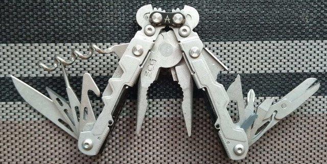 随身mini工具箱,索格PL1001多功能工具钳体验
