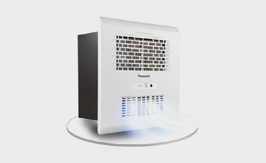 松下FV-30BUS2风暖浴霸:无线遥控安装简单,多种功能冷暖风切换