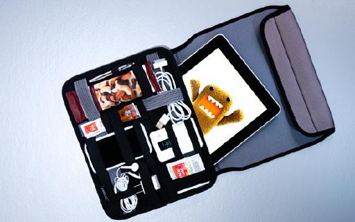 GRID-IT旅行收纳包:多弹性固定带收纳更方便,可放10英寸平板