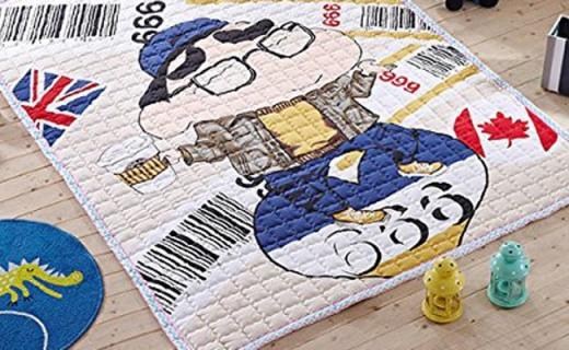 咖迪儿童爬行垫:加厚全棉超舒适,呵护宝宝每一天