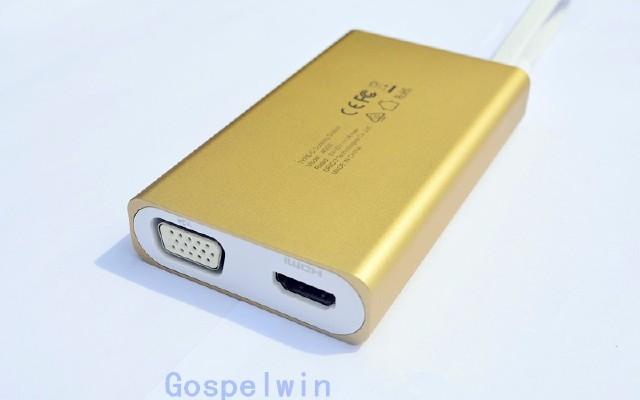 充电宝般大小的集线器,创基Gospelwin Type-C集线器体验