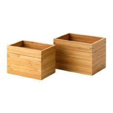 宜家(IKEA) 德里根 木质收纳盒