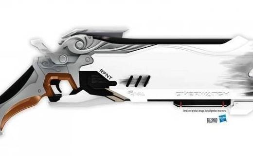 死神的武器:暴雪X孩之寶推出守望先鋒玩具槍